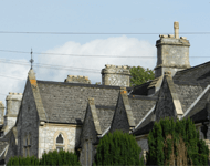 Rooftops of Period Buildings, Bruton